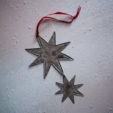 silver pendant ornament west elm