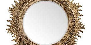 mirror decoration luxurious gold diamond shaped mirror stunning