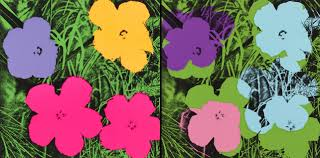 the story behind andy warhol u0027s flowers garden collage magazine