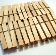 amazon com sturdy small craft clothespins 1 3 4