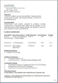 Resume Samples For Hospitality Industry by Typical Resume 13 Nice Design Typical Resume 10 Best Examples For
