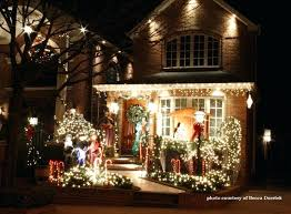 outdoor lighted christmas decorations outdoor lighted christmas decorations led lighted tree for