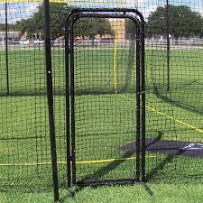 batting cage door sports advantage