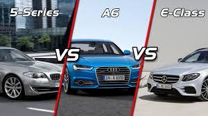 2017 new bmw 5 series vs audi a6 vs mercedes e class comparison