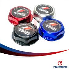 toyota lexus and scion visit to buy pqy racing trd engine oil fuel filler tank cap