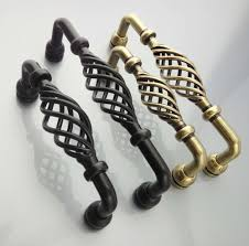 Pull Handles For Kitchen Cabinets Online Get Cheap Birdcage Kitchen Cabinet Knobs Aliexpress Com