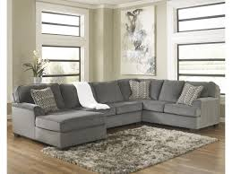 ashley furniture home theater seating ashley furniture loric smoke contemporary 3 piece sectional with