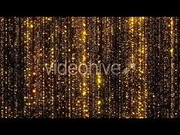 Glitter Backdrop Gold Particles Glitter Glamour Lights Motion Graphic Animation