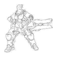 Overwatch Coloring Pages Getcoloringpages Com Sw Coloring Page