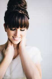 front fringe hairstyles top 9 wedding hairstyles with bangs styles at life