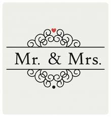 Mr And Mrs Wedding Signs Mr And Mrs Wedding Sign Typographic Design Vector Free Download