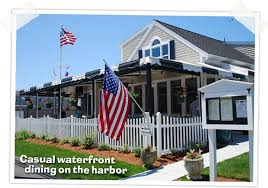 Cape Cod In April - the black cat tavern offers casual waterfront dining on hyannis