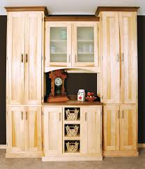real wood kitchen pantry cabinet sycamore pantry popular woodworking magazine