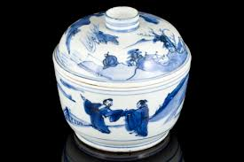 white china antique export blue and white porcelain ming and qing