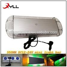 amber mini light bar 40 watts amber light bar mini light bar with strong magnet green led