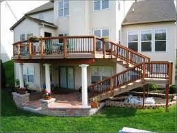 composite decking patio deck design ideas iron outdoor furniture