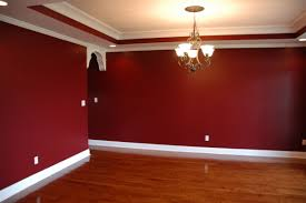 bedroom cool red paint idea with white window frame orange brown