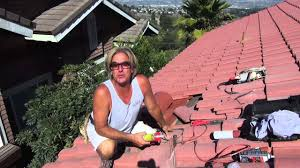 vent bathroom fan through roof how to install a kitchen vent pipe flashing on a tile roof 2 of 2