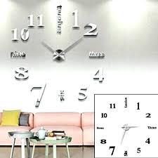 horloge pour cuisine moderne horloge de cuisine murale horloge murale pour cuisine trendy diy 3d