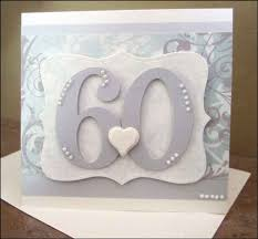 altered scrapbooking 60th anniversary card