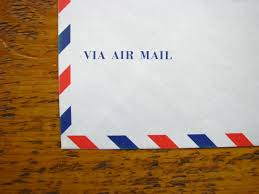 How To Fold A4 Paper Into An Envelope Life Japanese Airmail Envelopes Wonder Pens Life Behind A