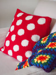 Patterns For Knitted Cushion Covers Nightingale U0026 Dolittle Mastering The Art Of Intarsia Polka Dot