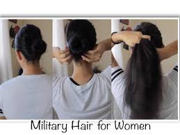 hairstyles for female army soldiers military hairstyles for women youtube