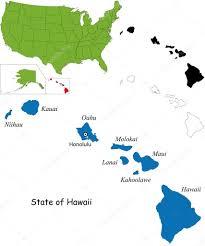 Molokai Map Hawaii Map U2014 Stock Vector Volina 32456175