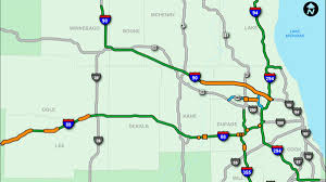 Us Map Chicago by Kansas Turnpike Wikipedia The Interstate Highway System North