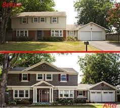 home exteriors before and after home interior decor ideas