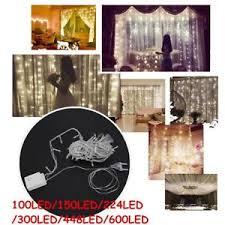 Indoor Curtain Fairy Lights Led Curtain Fairy Lights Wedding Indoor Outdoor Christmas Garden