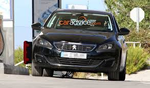 first peugeot 2017 peugeot 308 facelift spied photos 1 of 9