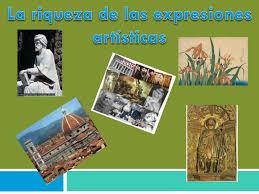 imagenes artisticas ejemplos ppt la riqueza de las expresiones artísticas powerpoint