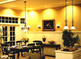 Yellow Dining Room Ideas Download Dining Room Recessed Lighting Ideas Gen4congress Com