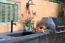 Outdoor Kitchen Sink Faucet Outdoor Kitchen Sink Station Bloomingcactus Me