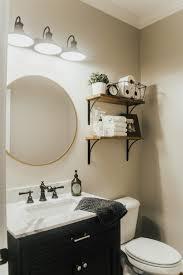 powder bathroom makeover house on longwood lane