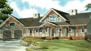 sophisticated one story country house plans with wrap around porch