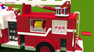 fire trucks monster truck stunt fire trucks for children kids fire trucks responding construction