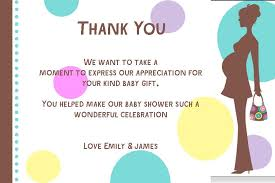 thank you baby shower how to create baby shower thank you card etiquette anouk invitations