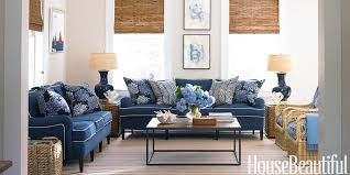 Blue And White Family Room House Beautiful Pinterest Favorite - Beautiful family rooms