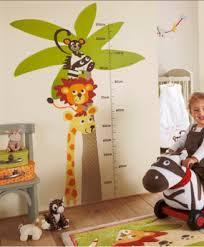 stickers savane chambre bébé sticker toise chambre enfant 285x346 png 285 346 toise