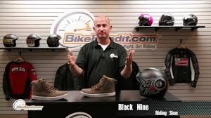 moto shoes speed and strength black 9 moto shoe at bikebandit com youtube