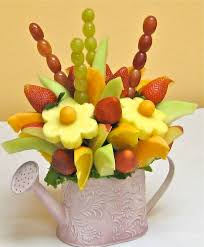 fruits arrangements edible fruit flowers how to make a do it yourself edible fruit