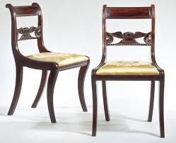 duncan phyfe take two antiques the arts weekly duncan phyfe eagle splat side chairs