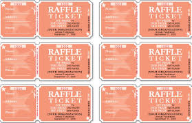 raffle ticket template free templates free u0026 premium templates