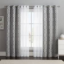 Home Office Curtains Ideas Cool Grey Curtain Ideas For Large Windows Modern Home Office Table