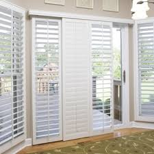 Bypass Shutters For Patio Doors Jacksonville Patio Door Shutter Options Sunburst Shutters
