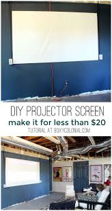retractable home theater screen best 25 home projector screen ideas on pinterest outdoor movie