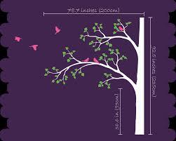 aliexpress com buy tree wall decal corner tree wall decals