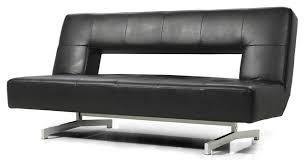 Modern Futon Sofa Bed Best Futon Leather Sofa Bed Black Eco Leather Sofa Bed Modern
